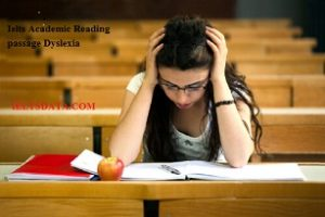 Ielts Academic Reading Passage Dyslexia