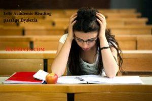 Ielts Academic Reading Passage Dyslexia