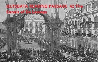 IELTSDATA READING PASSAGE 42Thе Canals оf De Lesseps