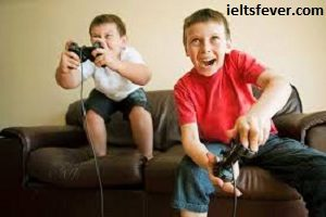 Some people say that playing computer games is bad for children, whereas others say that it has positive effects on the way children develop. Discuss both sides and give your opinion.