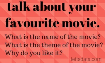 talk about your favourite movie.