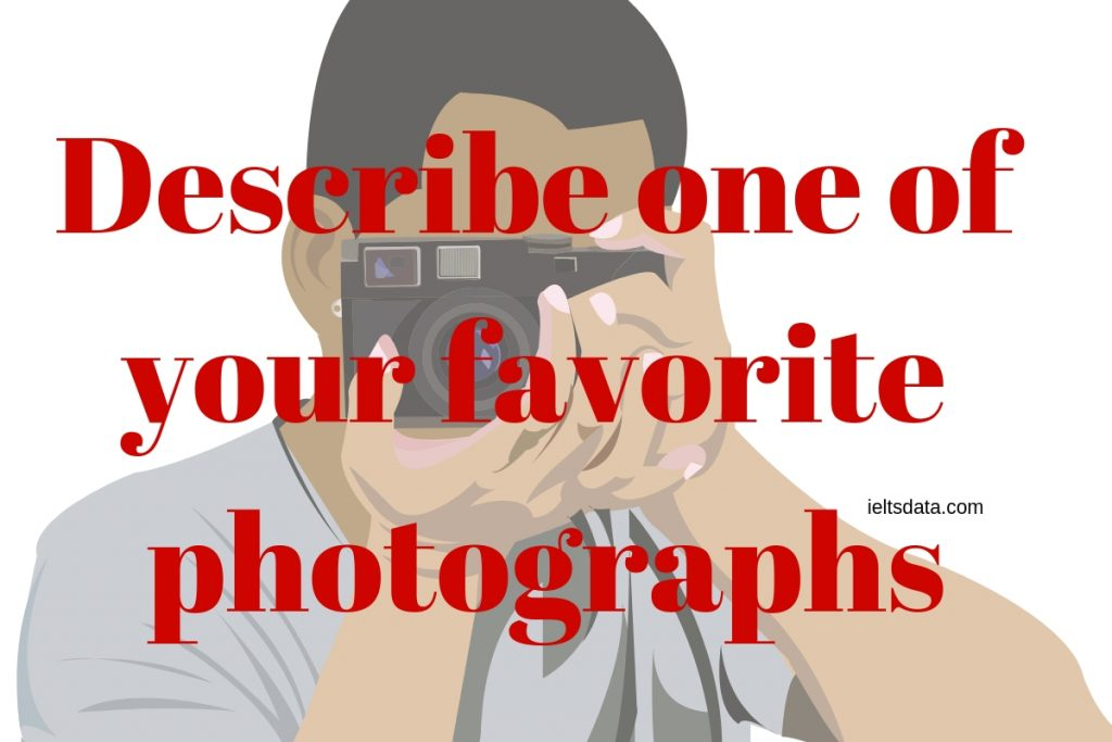 Describe one of your favorite photographs wore red picture