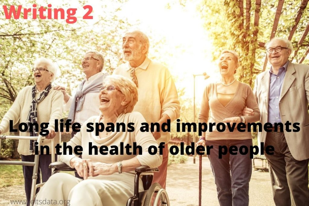 Longer life spans and improvements in the health