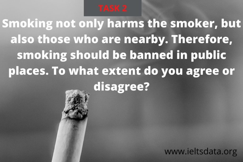 Smoking not only harms the smoker, but also those who are nearby.