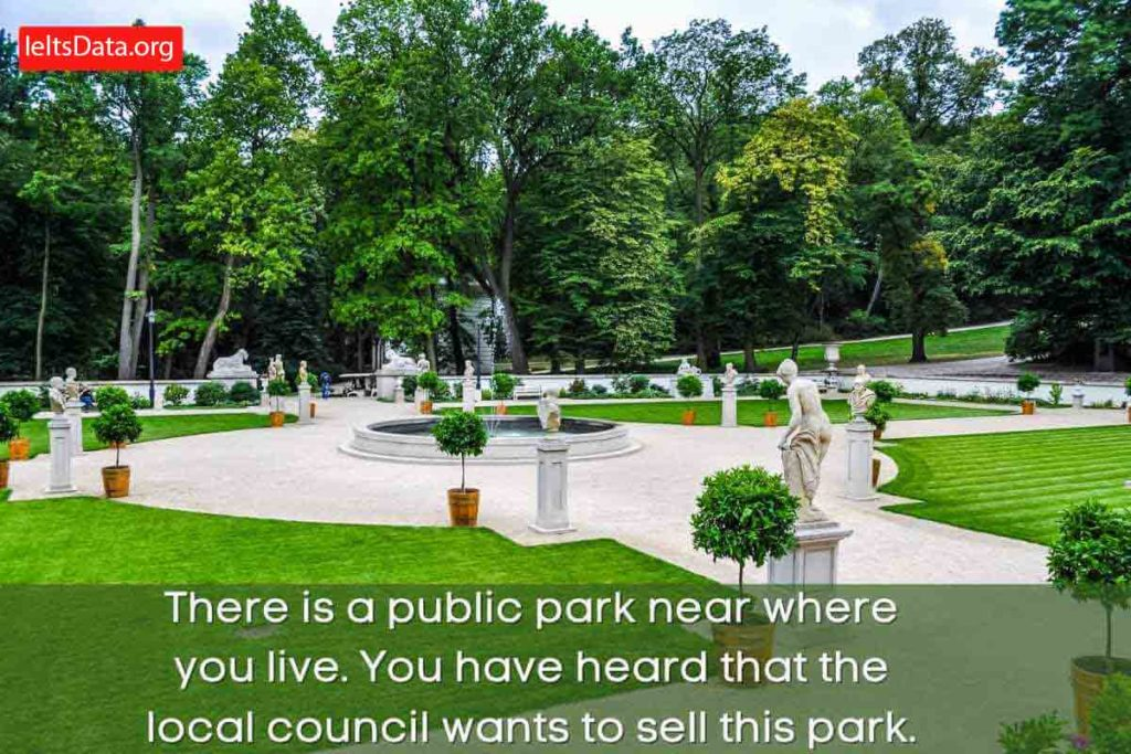 There is a Public Park Near Where You Live